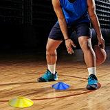 Fußball-Fußball-Beweglichkeits-Trainings-Kegel