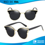Óculos de sol unisex 7709 do metal UV400 do frame coreano de Vintate da forma do estilo no estoque
