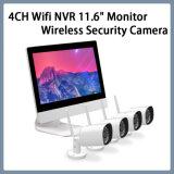 """4CH WiFi NVR 11.6 """" Installationssätze des Monitor-Netz-drahtlose Überwachungskamera-Systems-CCTV"""