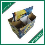 24 rectángulos de empaquetado de papel de la cerveza del cristal de botellas