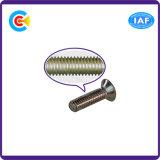 O aço de carbono de DIN/ANSI/BS/JIS/cruz Stainless-Steel escareada Mão-Torce o parafuso Non-Slip para eletrônico/maquinaria/indústria