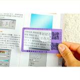 Подгонянный Hw-805A увеличитель головки объектива карманного размера карточки размера 6X пластичный