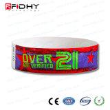 Wristband del laser RFID Tyvek imprimible