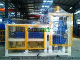 Qty10-15c größter Ertrag-stationärer konkreter Straßenbetoniermaschine-Ziegelstein-Block, der Maschine für Verkauf herstellt