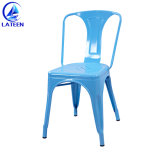 Производство Китай металлические обеденный стул для использования вне помещений