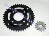 Peça o Kit de transmissão do motociclo conjunto carreto para a Titan Fan