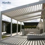 Pabellón de aluminio revestido del Gazebo del jardín de la protección de lluvia del polvo
