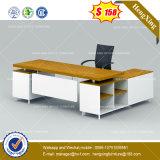 MDF 나무로 되는 광택 있는 행정실 테이블 베니어 사무용 가구 (HX-8NE097)
