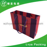 Мешки хозяйственных сумок большой емкости цветка печати бумажные
