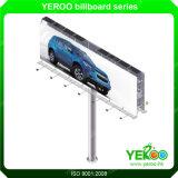 Libérer le panneau-réclame extérieur de Sturcture de stand d'éclairage LED en acier d'Avant-Lit