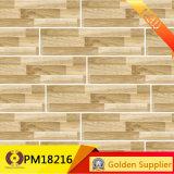 El azulejo de madera natural de la mirada diseña la baldosa cerámica rústica antirresbaladiza (PM18250)