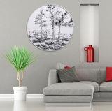 ホーム装飾のための薄い色のLandscpaeの壁の芸術オイルのキャンバスの絵画映像