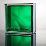 Grüne Farbe GlasBlcok für die Wand