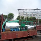 Petróleo usado China de Jnc e planta preta da regeneração do petróleo