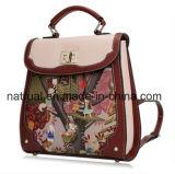 Madame de sac à dos, sac de sac à dos d'école, cuir de femmes de sac à dos