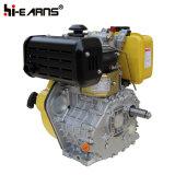 Motor diesel con el color del amarillo del árbol de levas (HR186FS)