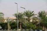Batterie solaire élevée du détecteur LiFePO4 du réverbère des lumens 50W PIR