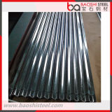 Chapa de aço ondulada galvanizada revestida zinco