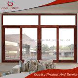 Le bois à la recherche profil aluminium fenêtres coulissantes en verre renforcé