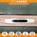 Portello scorrevole di alluminio con i hardware selezionati