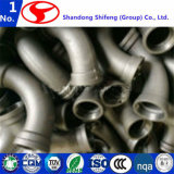 Raccord de tuyauterie en fonte ductile/raccord de tuyauterie en fonte/raccord de tuyau cannelé/raccord de bride du tuyau/raccord fileté/raccord de tuyau/bride à bride du raccord de tuyau