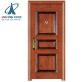 Diseño de la puerta de entrada principal de la puerta de seguridad de acero