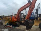 Equipamentos de construção utilizados coveiro da Retroescavadeira Hidráulica Escavadeira de esteiras do Hitachi Ex120 para venda
