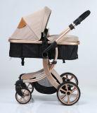Neuer Entwurfs-europäische Luxuxfalten-Kinderwagen mit Cer