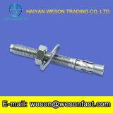 Finition tubulaire en acier inoxydable 304 Ancrage des filtres en coin Boulon avec écrou et rondelle