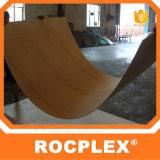 La madera contrachapada del suelo del envase de Rocplex, película de Malasia hizo frente a la madera contrachapada
