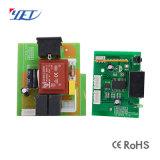 Récepteur universel de rf 12VDC/24VDC 2channels avec apprendre le bouton Yet402PC-V2.0