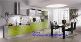 2017 de Nieuwe Eenheid van het Kabinet van de Flat Handless van Foshan Zhihua Glanzende Moderne Houten
