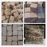 Piedra natural del cubo del granito del granito G682 del cubo de pavimentación de la pavimentadora amarilla de la piedra