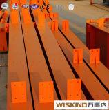 Structure en acier galvanisé peint et les matériaux de construction