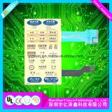 Mutifunctionの器械によって使用される接触Kepadの膜スイッチパネル