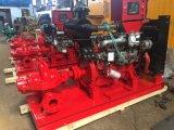 Pompe à eau fendue de lutte contre l'incendie de moteur diesel d'enveloppe de qualité