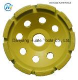 다이아몬드 녹색 Concretemin를 갈기를 위한 가는 컵 바퀴. 순서: 10 피스