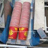 Dos líneas automáticas de la máquina de embalaje de plástico para tazas