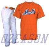 最も新しいデザインカスタムプリントオレンジ通り様式の野球ジャージー