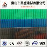 Hoja de la depresión del policarbonato de la Gemelo-Pared del fabricante de Foshan del precio de fábrica de Lexan
