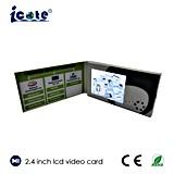 Geschäfts-Videokarte für das silberne Stempeln