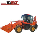 Front End를 가진 조밀한 Towable Backhoe Loader Tractor
