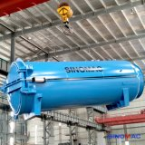 2800X8000mmの直接蒸気暖房の完全なオートメーションのゴム加硫装置