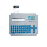 Kundenspezifische Marken-Membranschalter-taktiltastatur mit Folie