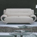 Sofa moderne de cuir véritable de 1+2+3 Dubaï (C08)