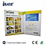工場価格! ! ! ! 高品質の7インチ新しいLCDのビデオカードかビデオカードは卸し売りする