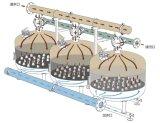 "Wasser-Sand-Media-Filter der hohen leistungsfähigen Berieselung-4 """