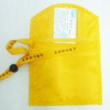 Fördernder Personaized Polyester-Geschäft Identifikation-Karten-Stutzen-Arbeitsweg-Mappen-Organisator