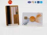 Amostra grátis cartão 4442 Les PVC RFID com tarjas magnéticas