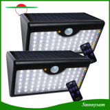 La luz solar 60 LED Sensor de Movimiento Angular Waterproof